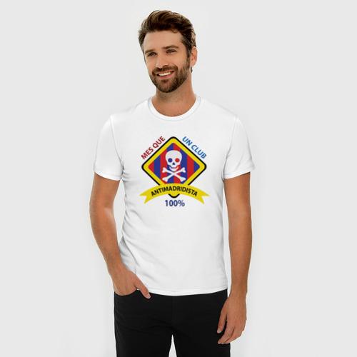 Мужская футболка премиум  Фото 03, Antimadridista