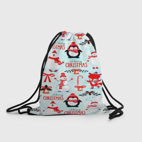 Рюкзак-мешок 3D Christmas Фото 01