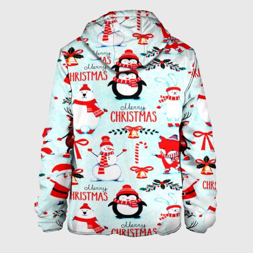 Мужская куртка 3D Christmas Фото 01