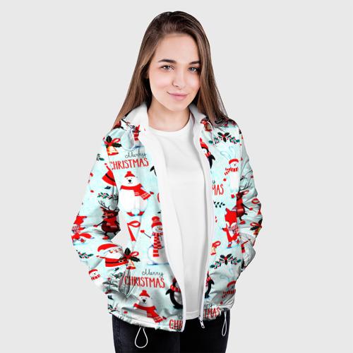 Женская куртка 3D Christmas Фото 01