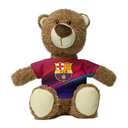 Миша в футболке 3D ФК Барселона Фото 01
