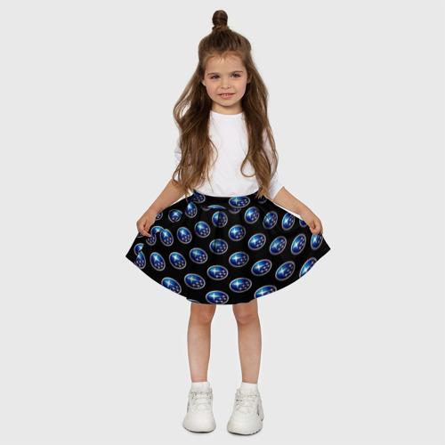 Детская юбка-солнце 3D  Фото 03, Subaru