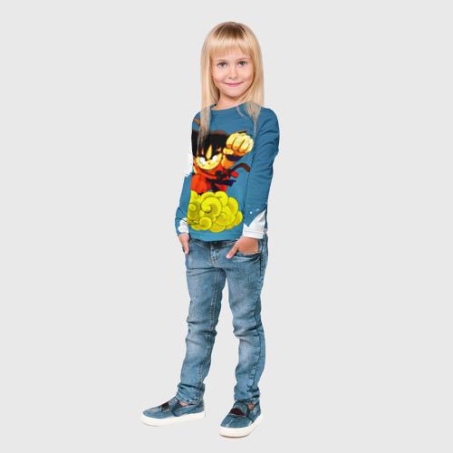 Детский лонгслив 3D  Фото 04, Kid