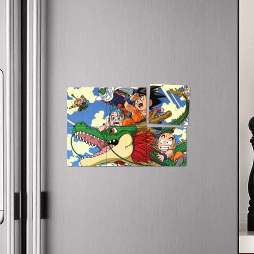 Магнитный плакат 3Х2  Фото 04, Dragon Ball