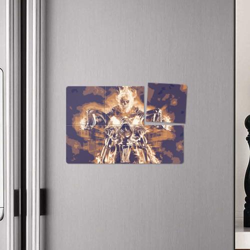 "Магнитный плакат 3Х2  Фото 04, Ghost Rider \""Sollievo\"""