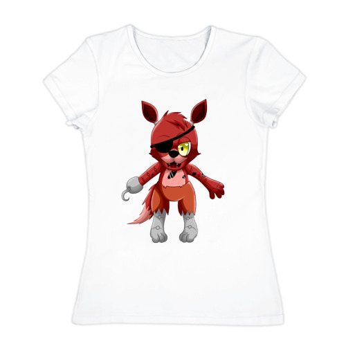 Женская футболка хлопок  Фото 01, Foxy