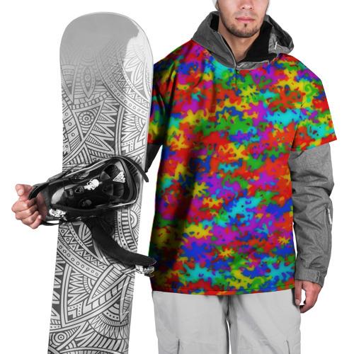Накидка на куртку 3D  Фото 01, Радужный камуфляж