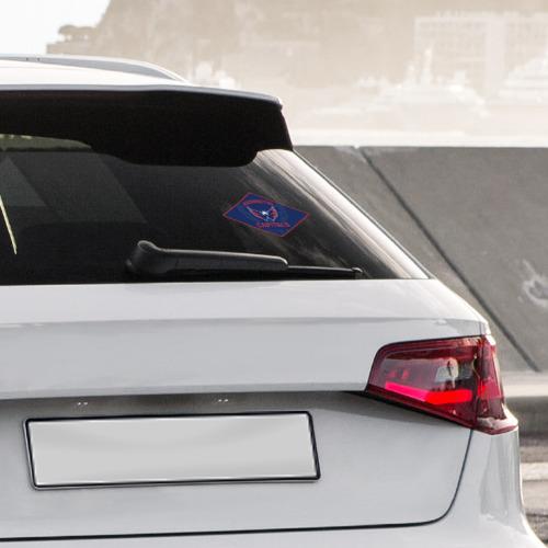 Наклейка на автомобиль  Фото 04, NHL: Washington Capitals