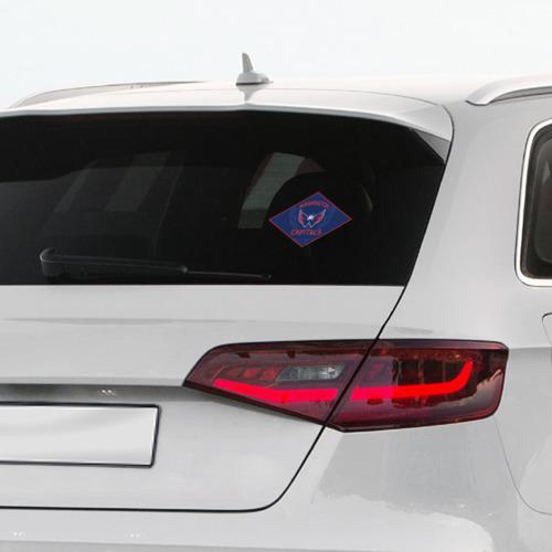Наклейка на автомобиль  Фото 03, NHL: Washington Capitals