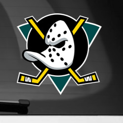 Наклейка на автомобиль NHL: Ducks