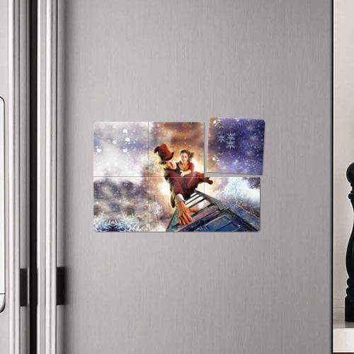 Магнитный плакат 3Х2  Фото 04, winter Dr. Who