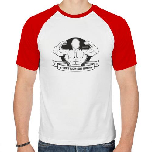 Мужская футболка реглан  Фото 01, Street Workout Siberia