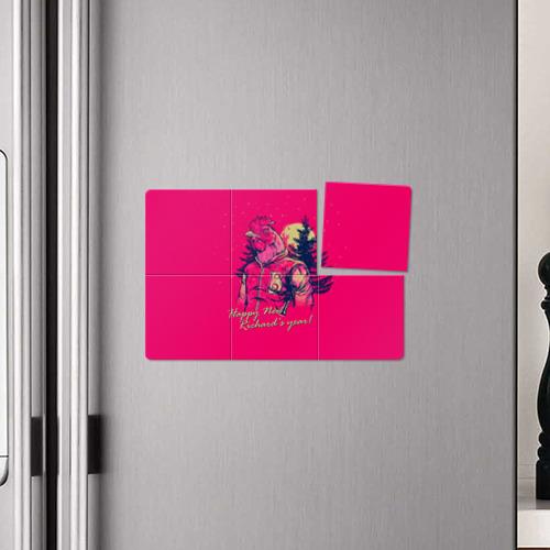Магнитный плакат 3Х2  Фото 04, Happy Richard's year!
