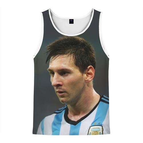 Мужская майка 3D  Фото 01, Leo Messi