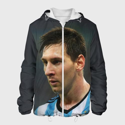 Мужская куртка 3D  Фото 01, Leo Messi