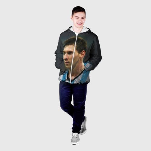 Мужская куртка 3D  Фото 03, Leo Messi