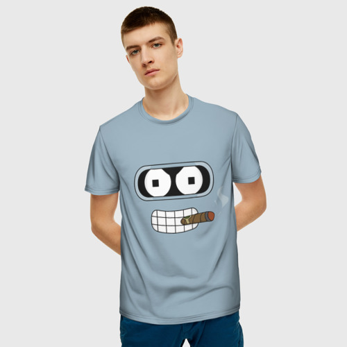 Мужская футболка 3D Bender Фото 01