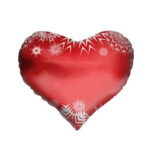 Подушка 3D сердце  Фото 01, Дуx рождества