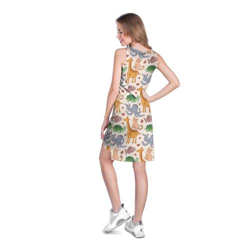 Платье-майка 3D  Фото 04, Животные
