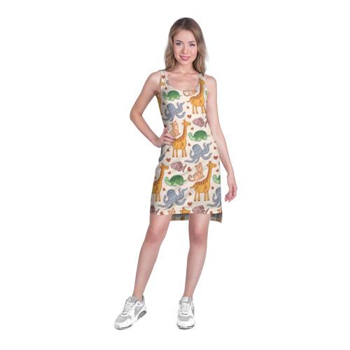 Платье-майка 3D  Фото 03, Животные