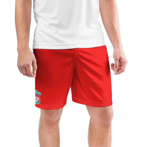 Мужские шорты 3D спортивные  Фото 03, Ливерпуль