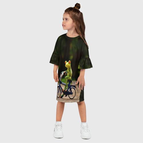 Детское платье 3D  Фото 03, Лягушка