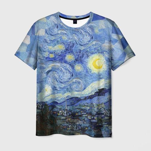 Мужская футболка 3D  Фото 03, Звездная ночь