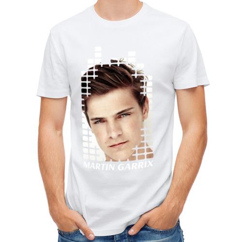 Мужская футболка полусинтетическая  Фото 01, EQ - Martin Garrix