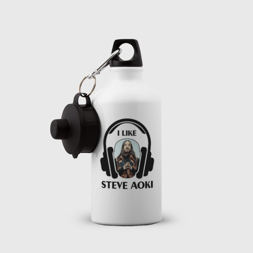 Бутылка спортивная  Фото 03, I like Steve Aoki