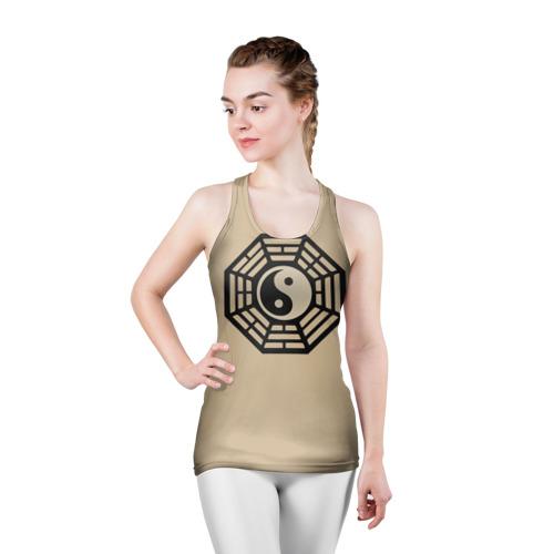 Женская майка 3D спортивная  Фото 03, Символ гармонии