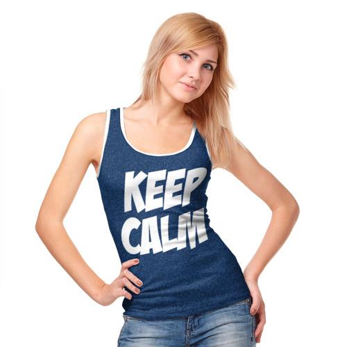 Женская майка 3D  Фото 05, Keep Calm