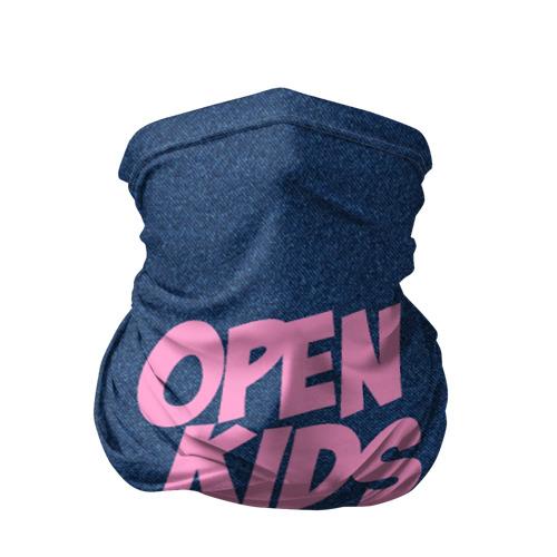Бандана-труба 3D  Фото 01, Open kids