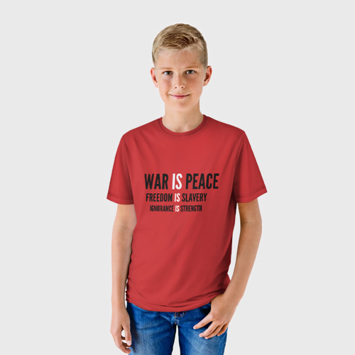 Детская футболка 3D 'Big Brother'