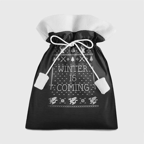 Подарочный 3D мешок Новогодний свитер Winter is coming