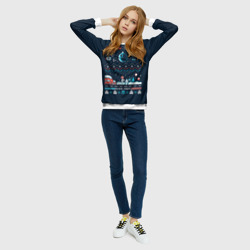 Новогодний свитер Корабли