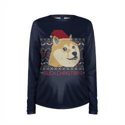 Новогодний свитер Doge