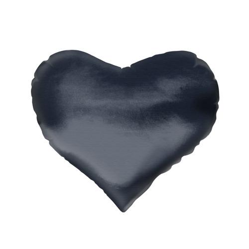 Подушка 3D сердце Новогодний свитер Принцесса Мононоке