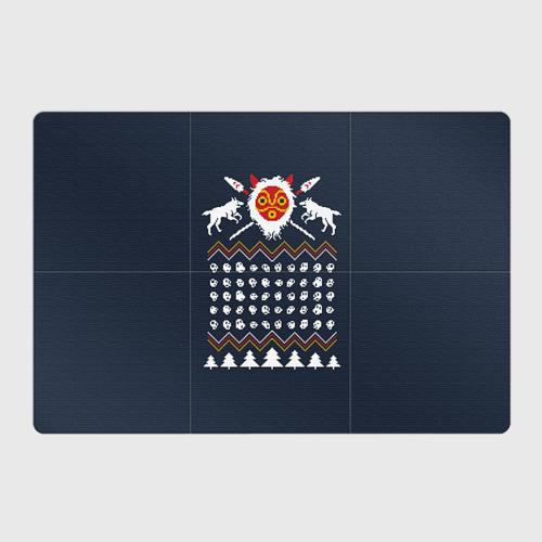 Магнитный плакат 3Х2  Фото 01, Новогодний свитер Принцесса Мононоке