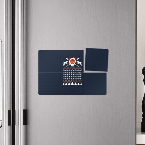 Магнитный плакат 3Х2  Фото 04, Новогодний свитер Принцесса Мононоке