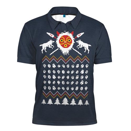 Новогодний свитер Принцесса Мононоке