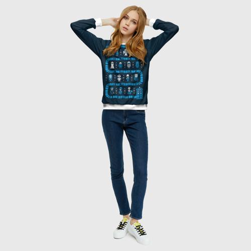 Новогодний свитер Доктор Кто