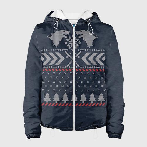 Женская куртка 3D  Фото 01, Новогодний свитер Старков