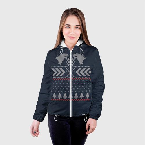 Женская куртка 3D  Фото 03, Новогодний свитер Старков