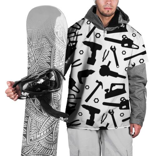 Накидка на куртку 3D Строитель 7 Фото 01
