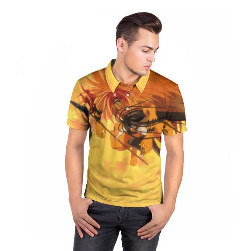 Мужская рубашка поло 3D  Фото 05, Ushio to Tora