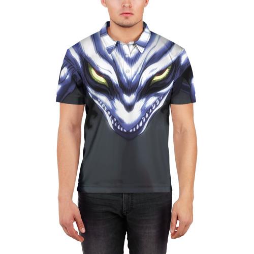 Мужская рубашка поло 3D  Фото 03, Ushio to Tora