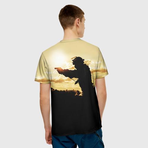 Мужская футболка 3D Спецназ России Фото 01