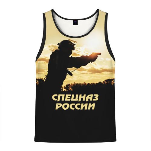 Мужская майка 3D Спецназ России Фото 01