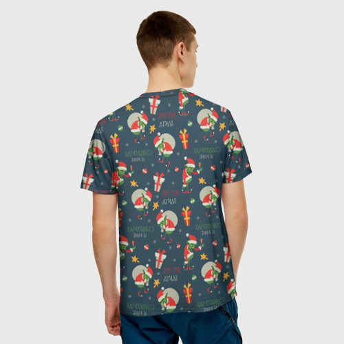 Мужская футболка 3D Гринч Фото 01