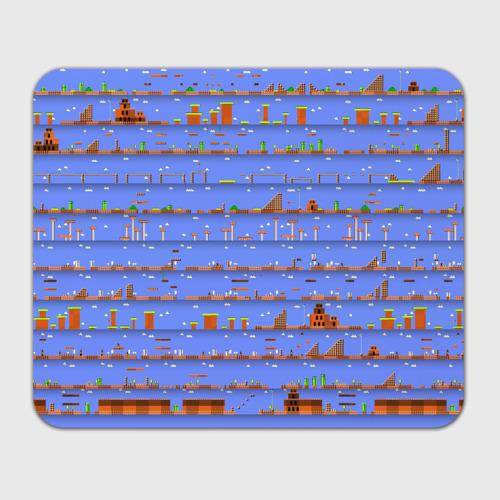 Коврик прямоугольный  Фото 01, Super Mario world